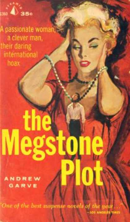 Pyramid Books - The Megstone Plot - Andrew Garve