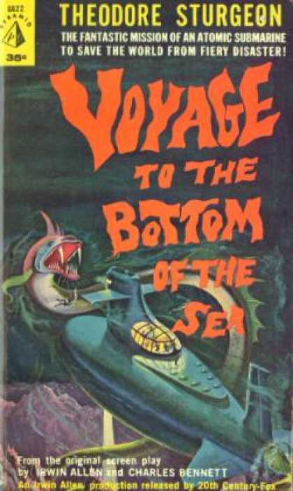 Pyramid Books - Voyage To the Bottom of the Sea - From the Screenplay By Irwin Allen & Charles B