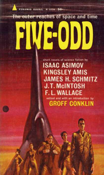 Pyramid Books - Five Odd