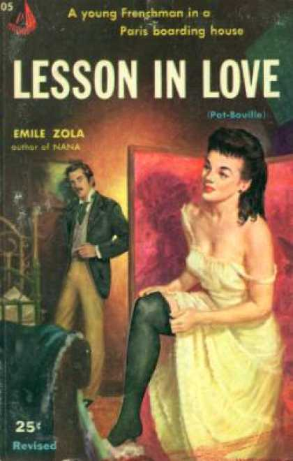 Pyramid Books - Lesson In Love - Emile Zola