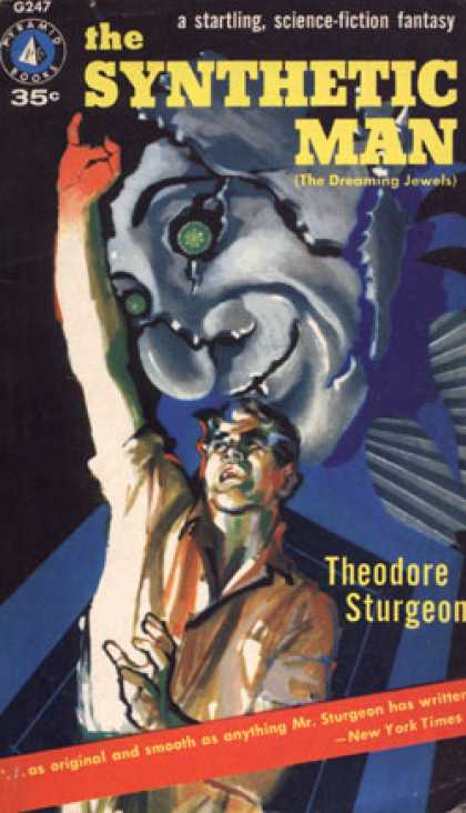 Pyramid Books - The Synthetic Man - Theodore Sturgeon