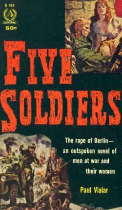 Pyramid Books - Five Soldiers - Paul Vialar
