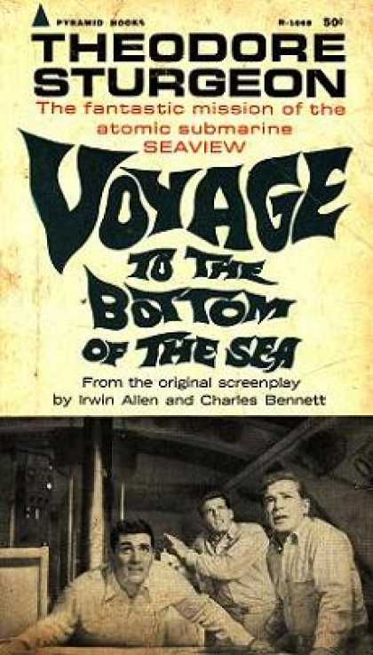 Pyramid Books - Voyage To the Bottom of the Sea Sturgeon - Theodore Sturgeon
