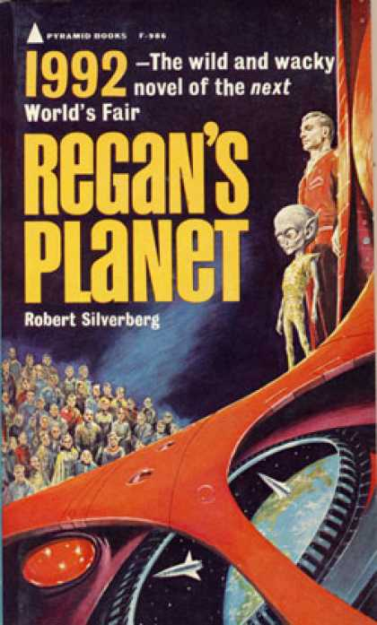 Pyramid Books - Regan's Planet: A Science-fiction Novel - Robert Silverberg