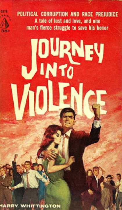 Pyramid Books - Journey Into Violence