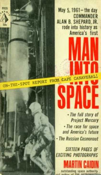 Pyramid Books - Man Into Space - Martin Caidin