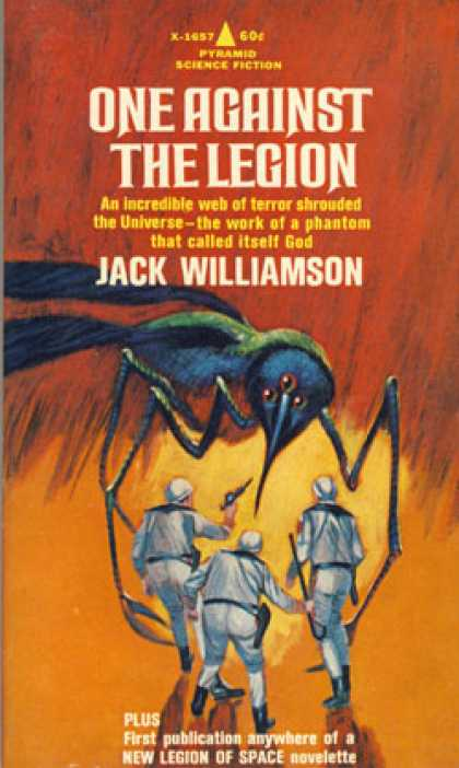 Pyramid Books - One Against the Legion - Jack Williamson