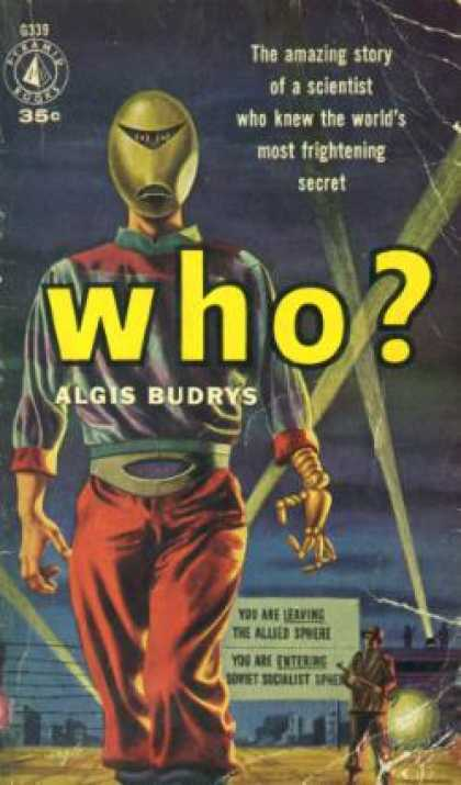 Pyramid Books - Who? - Algis Budrys