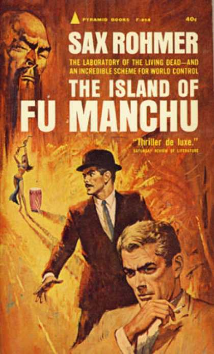 Pyramid Books - The Island of Fu Manchu - Sax Rohmer