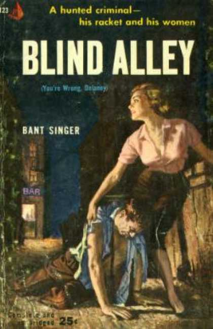 Pyramid Books - Blind Alley - Bant Singer