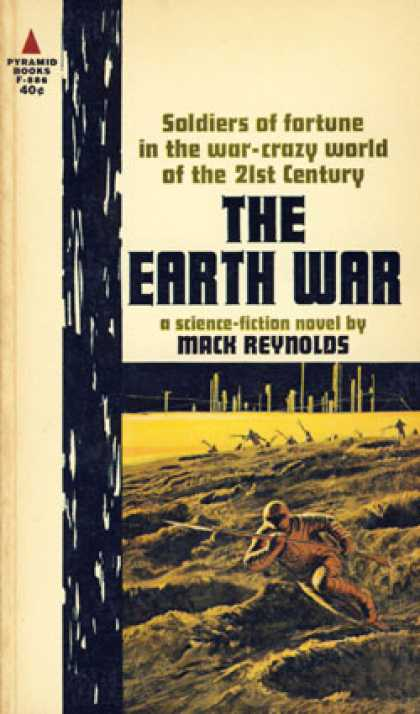 Pyramid Books - The Earth War - Mack Reynolds