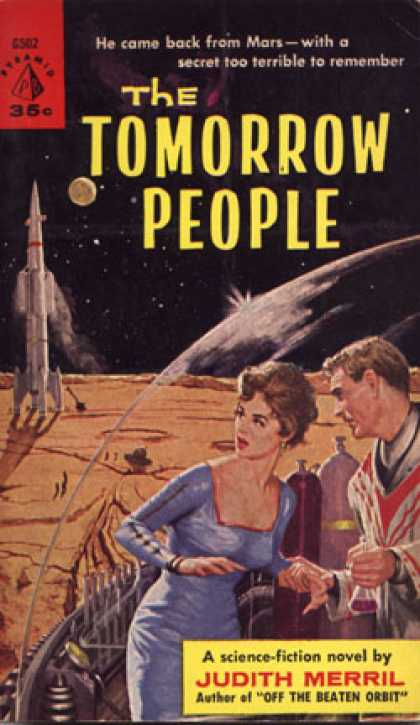 Pyramid Books - The Tomorrow People - Judith Merril