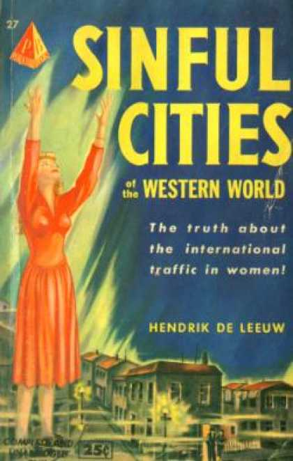 Pyramid Books - Sinful Cities of the Western World