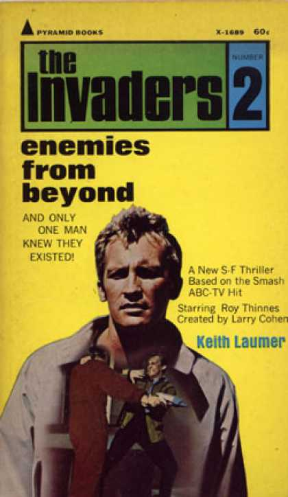 Pyramid Books - The Invaders #2. Enemies From Beyond - Keith Laumer
