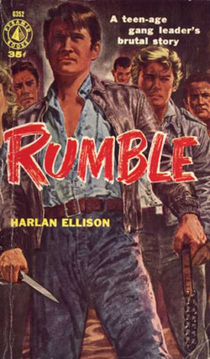 Pyramid Books - Rumble - Harlan Ellison