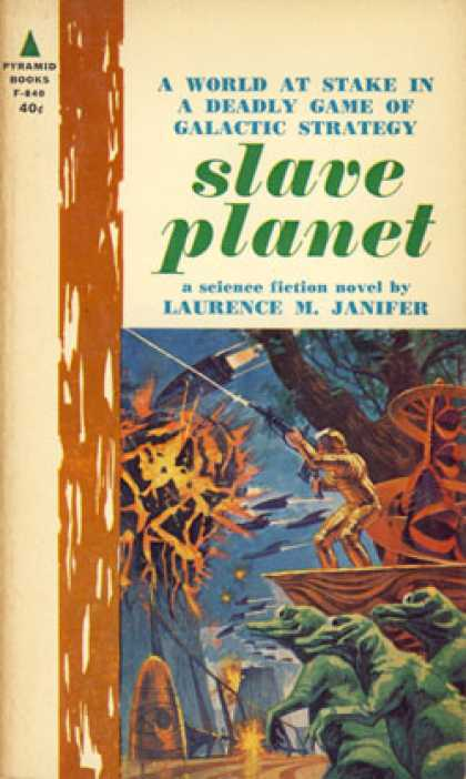 Pyramid Books - Slave Planet - Laurence M. Janifer