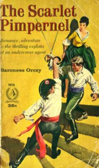 Pyramid Books - The Scarlet Pimpernel - Baroness Orczy