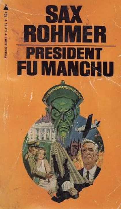Pyramid Books - Fu Manchu - Eight Volume Set