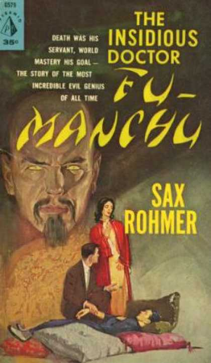 Pyramid Books - The Insidious Dr. Fu Manchu