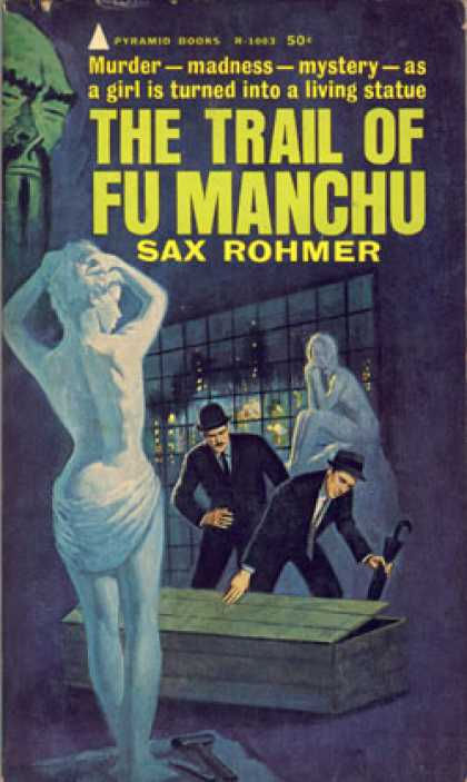 Pyramid Books - The Trail of Fu Manchu - Sax Rohmer