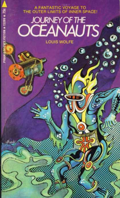 Pyramid Books - Journey of the Oceanauts - Louis Wolfe