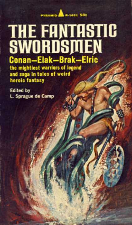 Pyramid Books - The Fantastic Swordsmen - L. Sprague De Camp