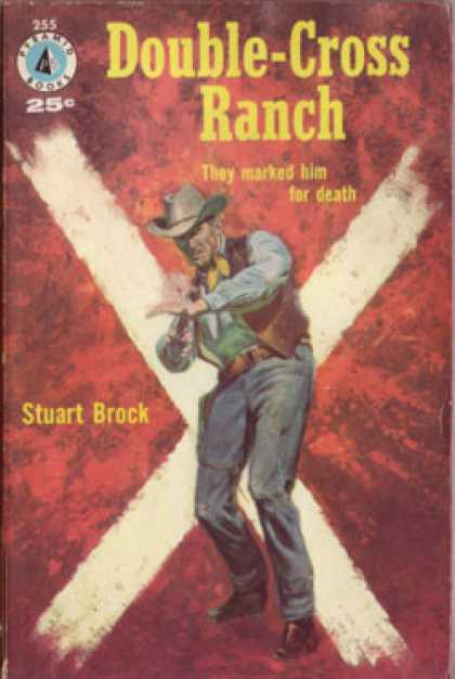 Pyramid Books - Double-Cross Ranch - Stuart Brock