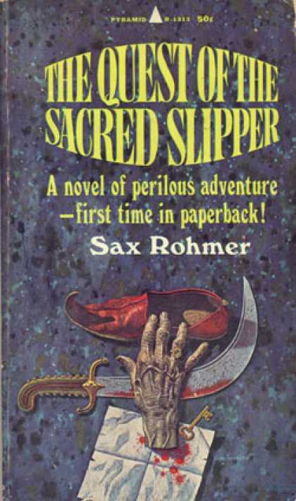 Pyramid Books - The Quest of the Sacred Slipper - Sax (pen Name Used By Arthur Sarsfield Ward) R