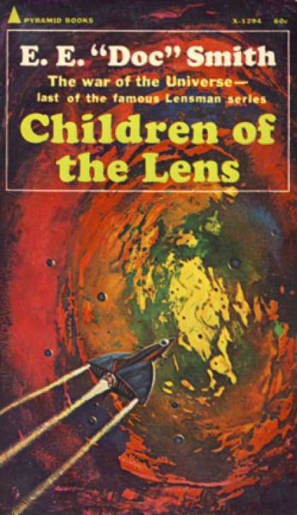 "Pyramid Books - Children of the Lens - Edward E. (""Doc"") Smith"