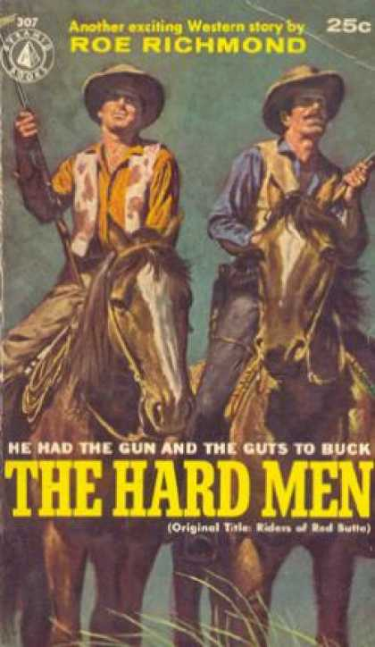 Pyramid Books - The Hard Men Roe Richmond - Roe Richmand
