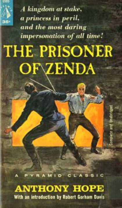Pyramid Books - The Prisoner of Zenda,a Pyramid Classic - Anthony Hope