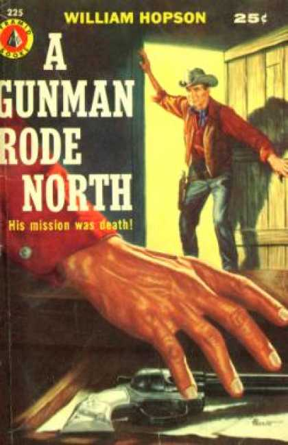 Pyramid Books - A Gunman Rode North - William Hopson