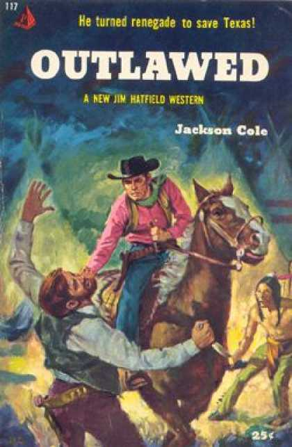 Pyramid Books - Outlawed - Jackson Cole