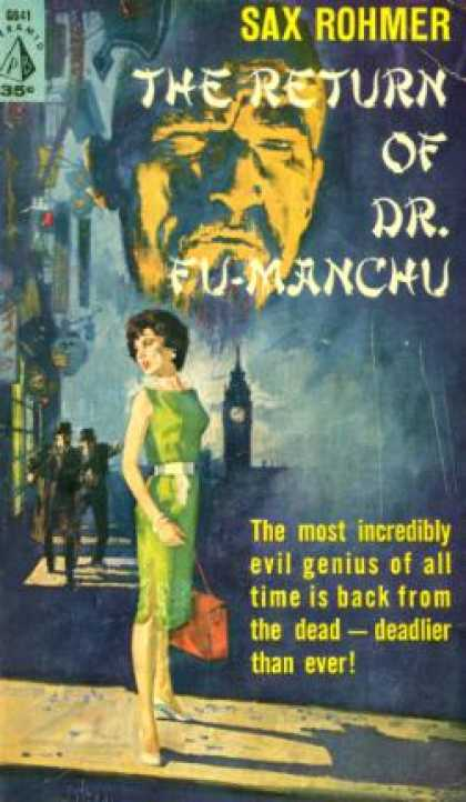 Pyramid Books - The Return of Dr. Fu-Manchu - Sax Rohmer