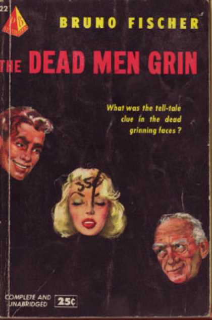 Pyramid Books - The Dead Men Grin - Bruno Fischer