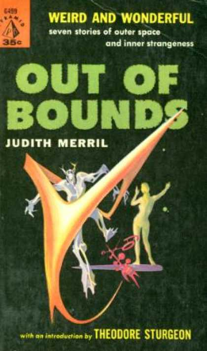 Pyramid Books - Out Of Bounds - Judith Merril