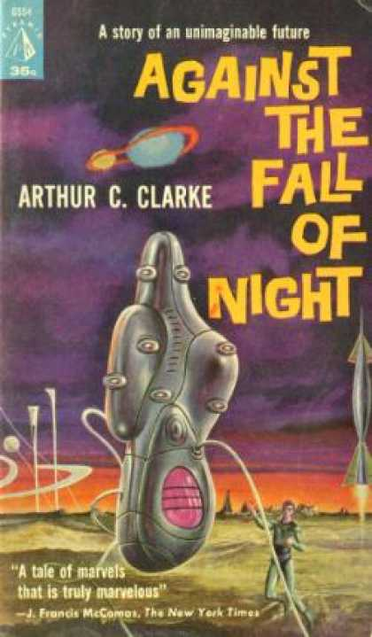 Pyramid Books - Against the fall of night - Arthur C. Clarke
