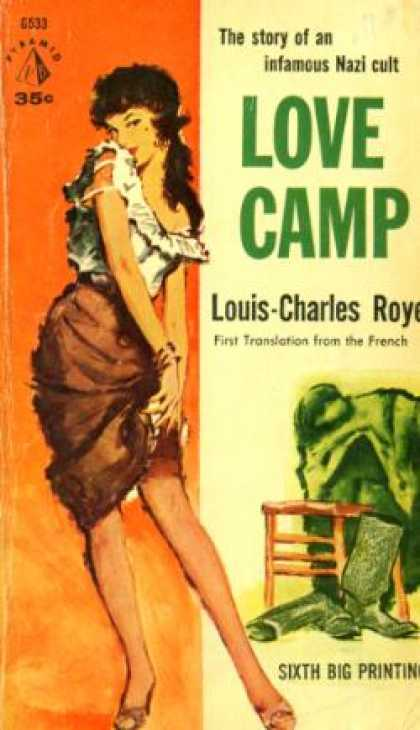 Pyramid Books - Love Camp - Louis-charles Royer