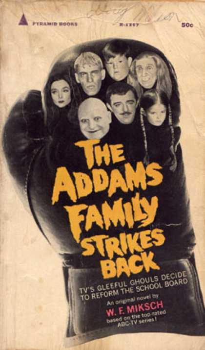 Pyramid Books - The Addams Family Strikes Back