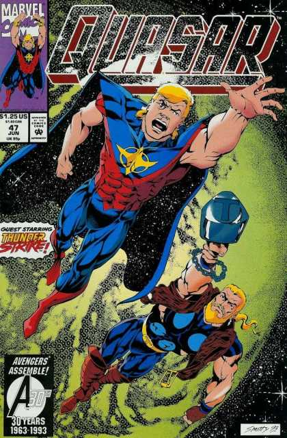 Quasar 47 - Avengers Assemble - Smitty 93 - Guest Starring - Thunder Strike - 125 Us - Andy Smith