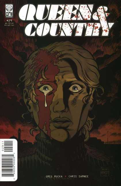 Queen & Country 29 - Blood - Crying - War - Sadness - Dark - Brian Hurtt