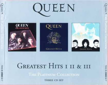 Queen - Queen - Greatest Hits I II & III - The Platinu...