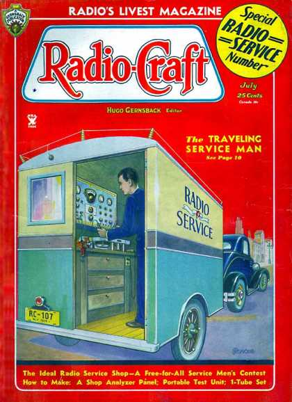 Radio Craft - 7/1935