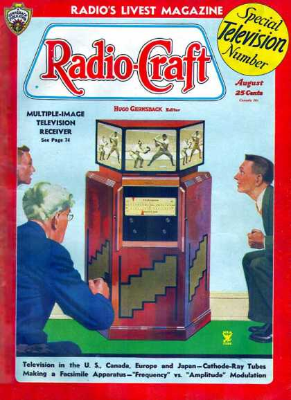 Radio Craft - 8/1935