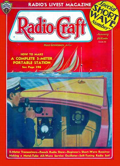 Radio Craft - 1/1936