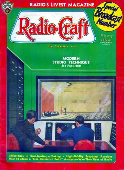 Radio Craft - 2/1936