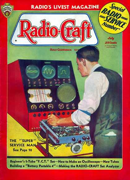 Radio Craft - 7/1936