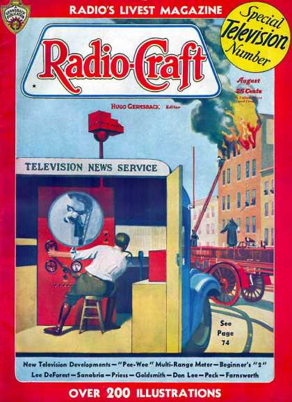 Radio Craft - 8/1936