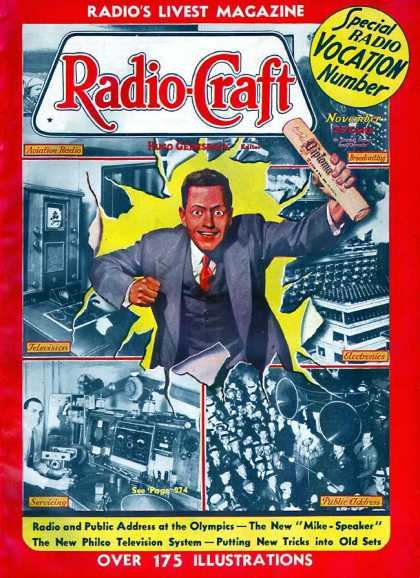 Radio Craft - 11/1936
