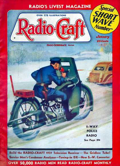Radio Craft - 1/1937